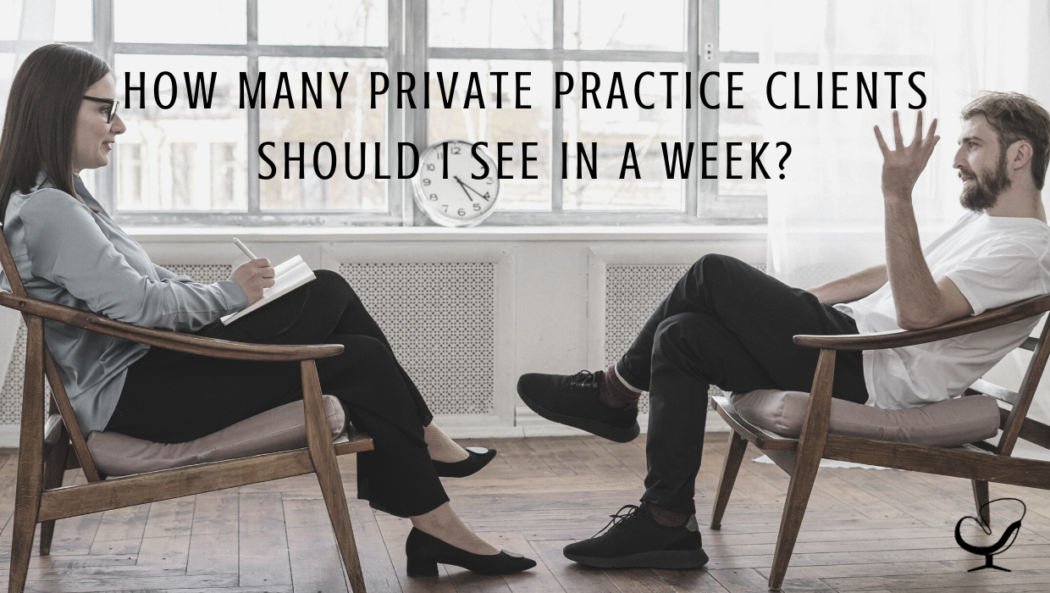 Image used for Practice of the Practice | Photograph representing a mental health clinician seeing a private practice client.