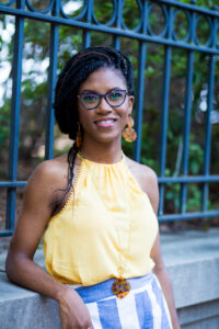 Image of Shawna Murray Browne speaking to LaToya Smith on this therapist podcast about reclaiming healing space
