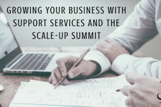 Growing Your Business with Support Services and the Scale-Up Summit | Image representing business consultants and support services who can help grow your business and private practice | Practice of the Practice Blog