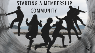 Starting a Membership Community | Image representing a membership community | Podcast Article | Practice of the Practice | Interview | Pat Flynn | Podcast Magazine March Issue 2021