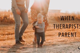 Family image representing When Therapists Parent | Practice of the Practice | Clinician Advice | Hope Brown | Blog Contributor