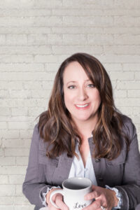 A photo of Dawn Gabriel is captured. Dawn Gabriel is the owner of Authentic Connections Counseling Center, private practice consultant, and host of Faith Fringes podcast. Dawn Gabriel is featured on the Practice of the Practice, a therapist podcast