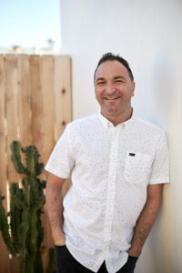 A photo of Joe Sanok is featured on the Faith in Practice podcast. Joe is interviewed by Whitney Owens where they speak about his new book, Thursday Is The New Friday.