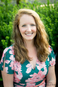 A photo of Megghan Thompson is captured on the Practice of the Practice. She speaks with Lisa Lewis about Understanding and Helping Your Highly Sensitive Child
