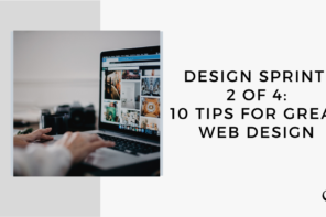 On this marketing podcast, Sam Carvalho talks about 10 tips for great web design.