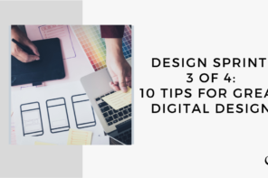 On this marketing podcast, Sam Carvalho talks about 10 tips for great digital design.