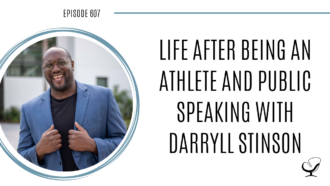 A photo of Darryll Stinson is captured. Darryll Stinson is a former Division 1 athlete who battled multiple personal and professional challenges in his youth (including violence, drug addiction, and attempted suicide) and transformed himself into a successful business and leadership coach, two-time TEDx speaker, and best-selling author he is today. Darryll Stinson is featured on Practice of the Practice, a therapist podcast.