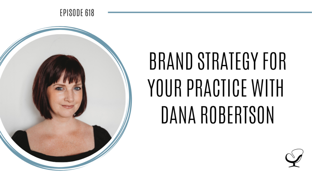 A photo of Dana Robertson is captured. Dana Robertson is the co-founder and Dreamer at Pennant Creatives, a creative agency that specializes in Values-Based Branding. Dana loves providing creative direction, design-thinking, values visioning, and leadership and strategy consulting to her role at Pennant. Dana Robertson is featured on Practice of the Practice, a therapist podcast.